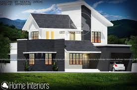 Home Design 2000 Square Feet 2000 Square Feet Double Floor Contemporary Budget Home Design