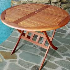 Patio Table Wood Awesome Round Wood Patio Table Round Wood Patio Table