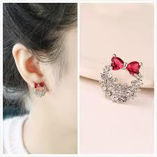 pretty earrings 925 sterling silver pretty women children earrings with