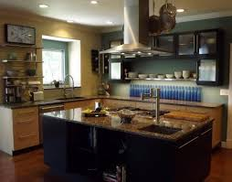Distressed Black Kitchen Island Kitchen Cheap Distressed Black Kitchen Cabinet With Lights