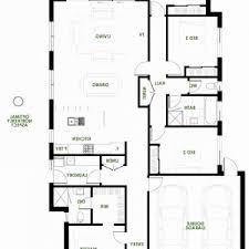 plan floor modern house plans efficient plan single story open floor garage