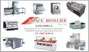 fournisseur de materiel de cuisine professionnel espace hotelier