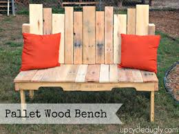 Simple Wooden Bench Pallet Benches 10 Simple Furniture For Pallet Wood For Sale Cape