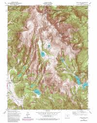 Beaver Creek Colorado Map by Pikes Peak Topographic Map Co Usgs Topo Quad 38105g1