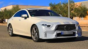 camo maserati all new mercedes cls class c257 has almost no camo youtube