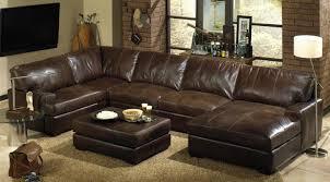 Abbyson Sectional Sofa Abbyson Living Berkshire Italian Leather Sectional Sofa