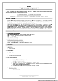 examples of resumes resume doc template cv format write a