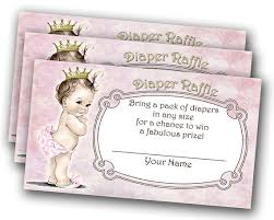 baby shower raffle raffle tickets vintage baby shower for girl princess