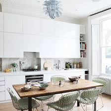 white kitchen ideas uk kitchen diner ideas for easy living ideal home