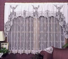 Heritage Lace Shower Curtains by Heirloom Pattern Lace Curtain From Heritage Lace
