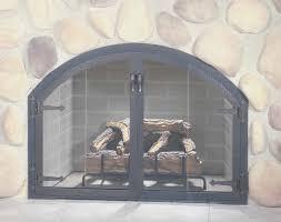 fireplace creative prefab fireplace doors decorations ideas