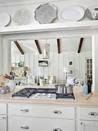 photos hgtv white cottage kitchen with view of living room loversiq