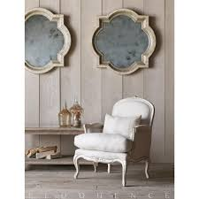 eloquence la belle gesso oyster highlight bergere armchair