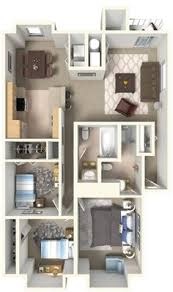 Floor Plan Apartment Design 50 Two