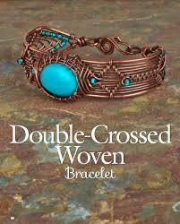 woven bracelet with cross images Book review timeless wire weaving the beading gem 39 s journal JPG