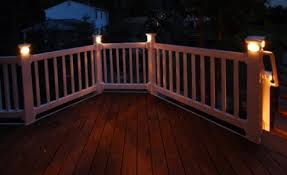 Solar Powered Deck Lights Solar Deck Lights Solar Post Cap Lights Solar Rail Lights