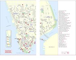 Metro North Harlem Line Map by Frommer U0027s Map Of Downtown Attractions Nyc Pinterest Destinations