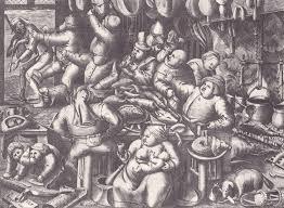 la cuisine belgique gravure de brueghel la grasse cuisine laurphil flickr