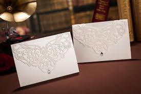 wedding invitations envelopes design hellow out diamond cw3129 invitation card wedding