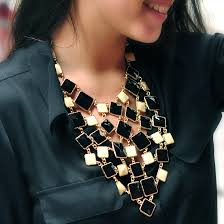 bib necklace images Color block bib necklace shop amrita singh jewelry