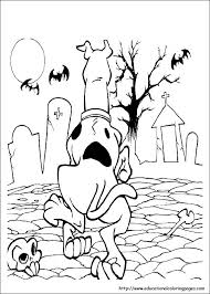 scooby doo coloring pages free kids