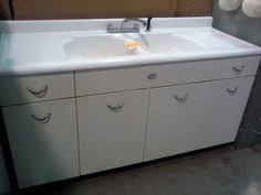 Vintage Kitchen Cabinets For Sale Antique Vintage Youngstown Kitchen Cabinet Sink Base W Double