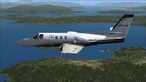 Cessna Citation 500 N501gr For Fsx