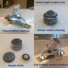 Parts Of A Faucet Aerator Battling Mildew In The Bathroom Scrigit Scraper