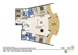 the garland unit 702 beachfront apartment in rainbow bay