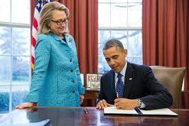 hillary clinton caught trash talking barack obama in interview