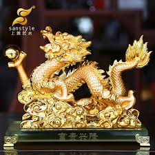if the fortune feng shui ornaments shuilong light plating