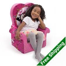 Minnie Mouse Armchair Minnie Mouse Open Flip Bow Chair Sofa Marshmallow Disney Soft