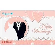 gift cards for wedding pugster gift card certificate gift certificates gift cards