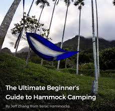 Large Hammock Tent Learn How To Hammock With Serac U0027s Free Ebook