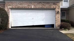 Western Overhead Door by A Crooked Garage Door In Lisle Il 630 271 9343 Youtube