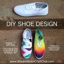 diy shoe design workshop brokelyn