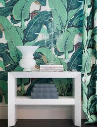 10 ways wallpaper became cool again palm fronds wallpaper and