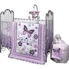 Lavender Butterfly Crib Bedding Butterfly Bedding Set Wayfair