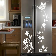 wholesale home decor suppliers china flowers wardrobe refrigerator wall stickers personality decorative