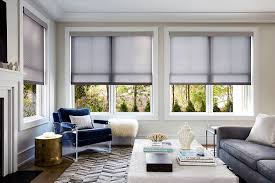 Blue And White Striped Blinds Roller Shades Custom Made Shades Blinds To Go