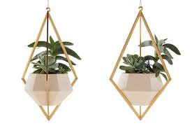 Hanging Ceramic Planter by Designer Farrah Sit U0027s Hanging Gardens