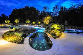 Pool Landscaping Ideas by Pool Lighting Design Best Lighting Designer In Westchester Design