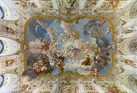 picture of the day the ceiling fresco at seitenstetten abbey
