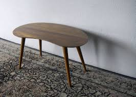 kidney bean shaped table second charm december 2012