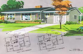 mid century modern home plans home design