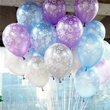 Snowflake Balloons Discount Frozen Birthday Decoration Set 2017 Frozen Birthday