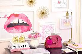 Office Desk Decor Office Desk Office Desk Decorations Decor Pink Room