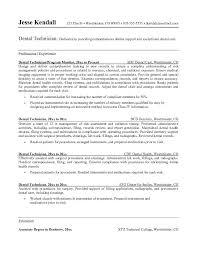 Sle Resume Objectives Tech dental resume sales dental lewesmr