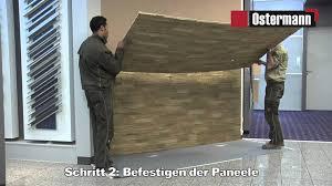 steinwnde wohnzimmer kosten 2 ostermann gfk steinpaneele verarbeitungsvideo