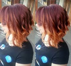 brown and blonde ombre with a line hair cut 40 on trend balayage short hair looks
